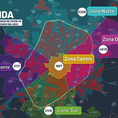 Inicia la semana con 10 muertes por covid y 94 nuevos contagios en Yucatán