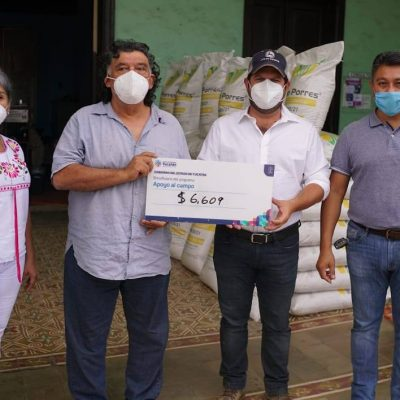 Entrega el Gobierno del Estado estímulos para incentivar la producción henequenera en Yucatán