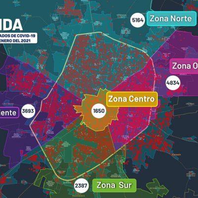 Hoy domingo 9 muertes por covid y 99 nuevos contagios en Yucatán