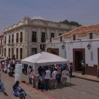 Autoridades de 45 localidades de San Juan Cancuc, Chiapas, deciden que no vacunarán a la población